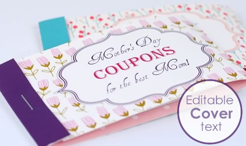 mothers day coupon booklet
