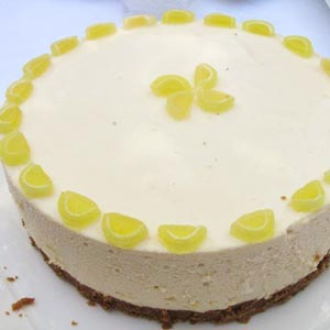 homemade food gifts no bake lemon cheesecake