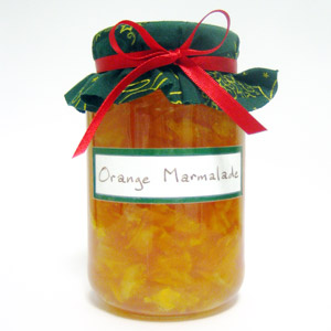 homemade food gifts orange marmalade