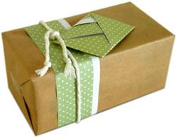 origami envelope gift tag
