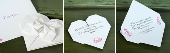 how to make origami heart love notes  stepstep