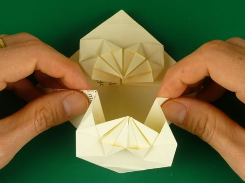 Easy Origami Money Heart Tutorial - DIY - Paper Kawaii - YouTube | 375x500