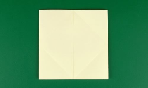 origami heart love note step 4b