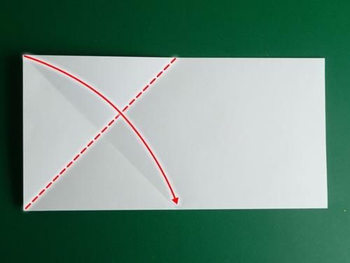 origami pentagon step 3