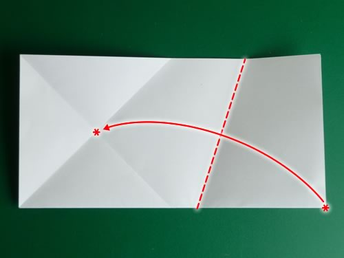 origami pentagon step 4