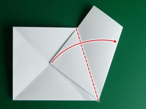 origami pentagon step 5