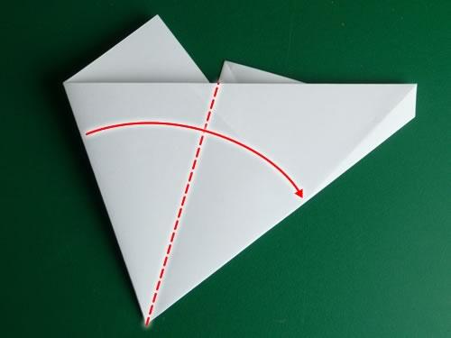 origami pentagon step 7