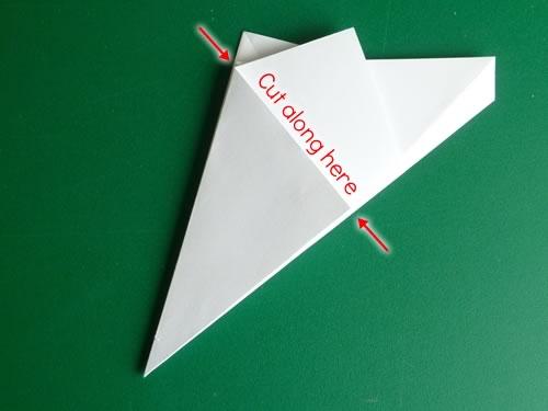 origami pentagon step 8a