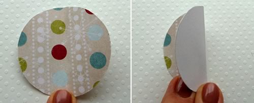 paper christmas decorations - folding