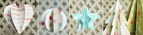 Paper Christmas Decorations header