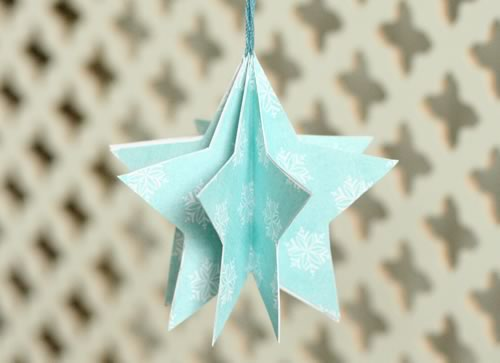 easy homemade paper christmas decorations photo6