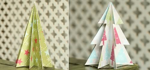 Decorate Christmas Tree On Paper : Paper christmas decorations quot