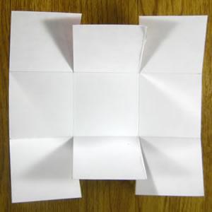 paper easter basket step 2