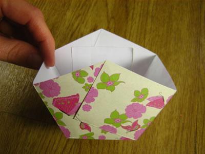 paper easter basket step 3