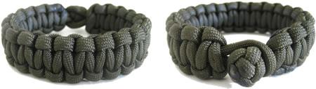 paracord bracelets green