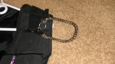 extra long paracord lanyard by logan photo 1