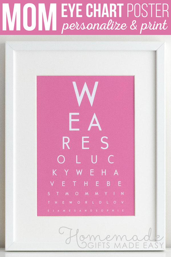 8f5a2d91ab68a DIY Eye Chart - Personalized Mothers Day Gift