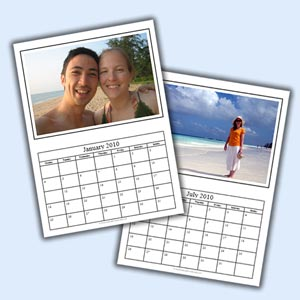 homemade christmas gift ideas photo calendar template