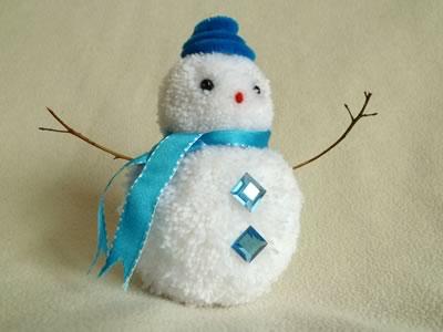 Easy Snowman Craft Ideas