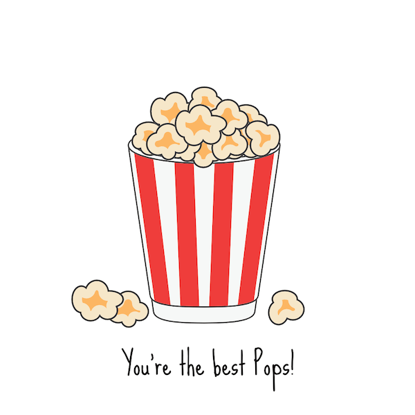 printable father's day cards - Best Pops