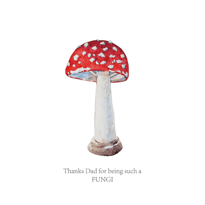 Printable Fathers Day Cards Fungi