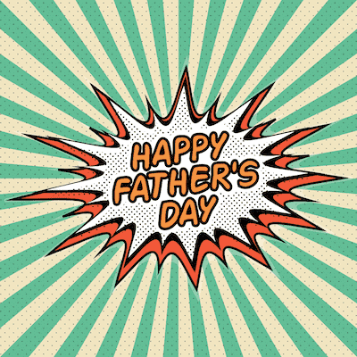 Printable Fathers Day Cards Happy Comic
