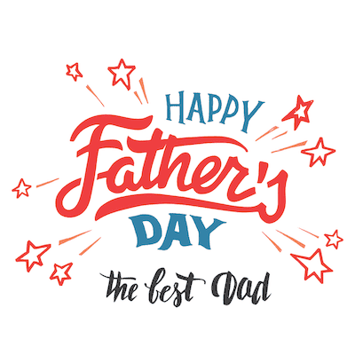 Printable Fathers Day Cards Happy Stars Best Dad