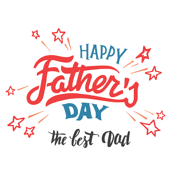 printable father's day cards - Best Dad (Stars)