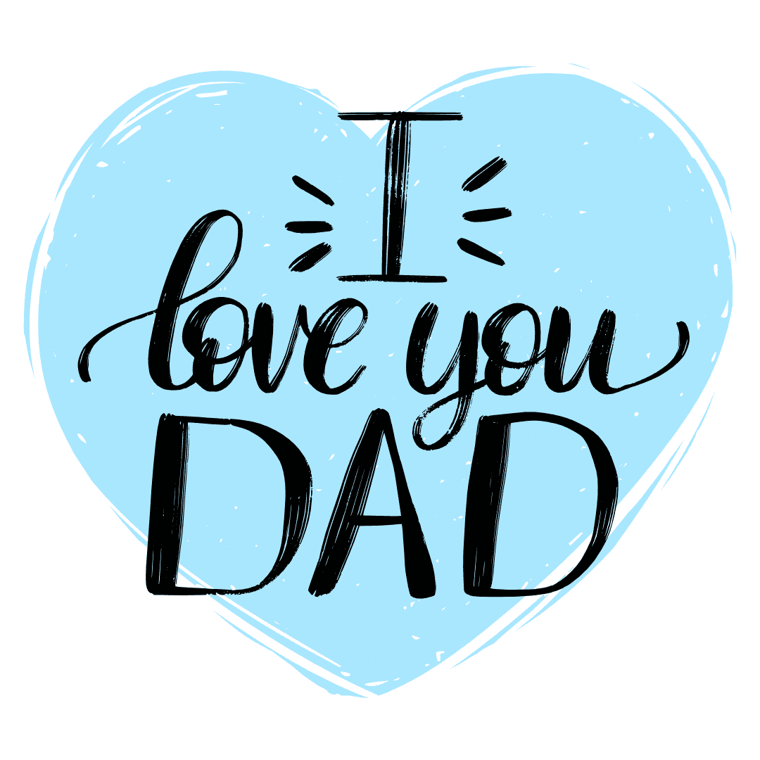 printable father's day cards - I Love You Dad