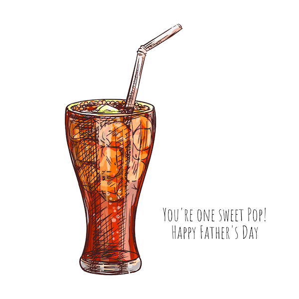 printable father's day cards - Sweet Pop (soda)