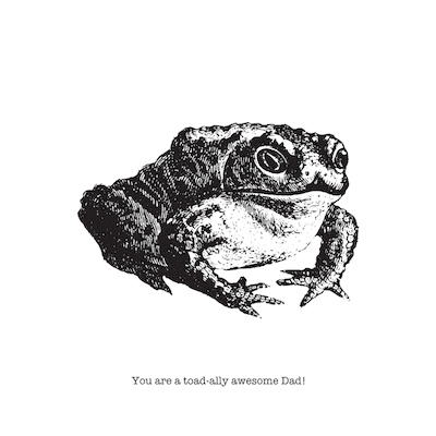 Printable Fathers Day Cards Toad Totally Awesome