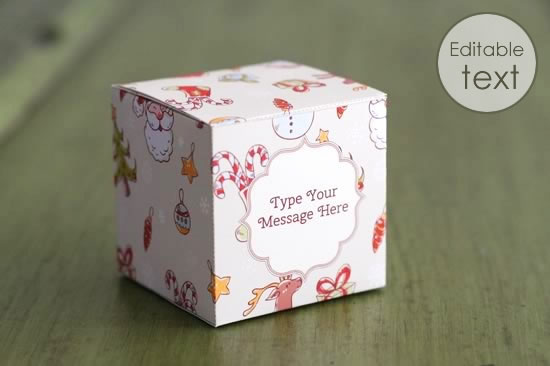 printable gift boxes personalize and print at home