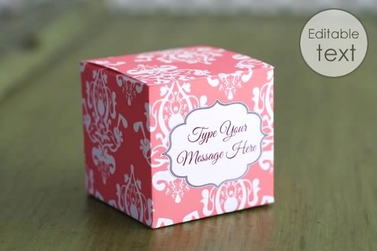 Beautiful Instructions for Making Gift Boxes SD28