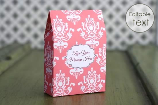 how to make gift boxes template free