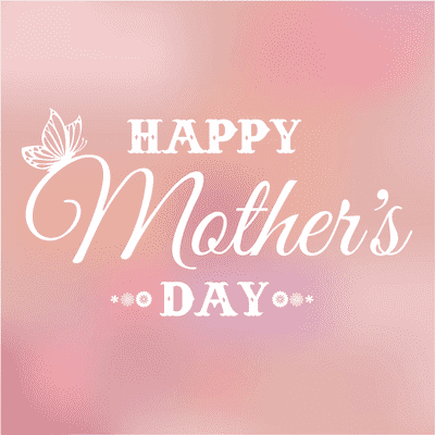 Printable Mothers Day Card 5x5 Blur