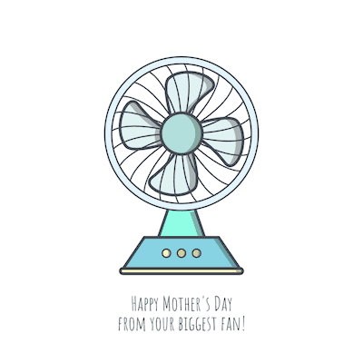 Printable Mothers Day Cards Biggest Fan