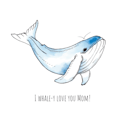 Printable Mothers Day Cards Whaley Love You Mom