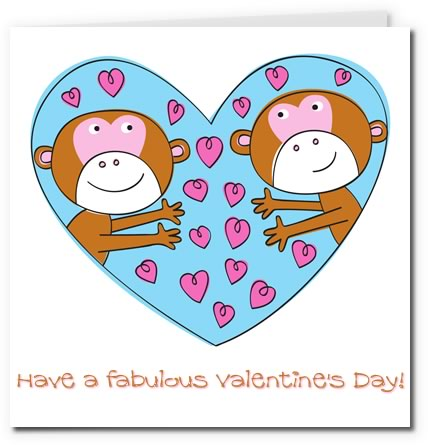 image regarding Printable Valentines Cards for Kids titled Printable Valentine Playing cards for Youngsters
