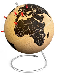 retirement gift ideas globe