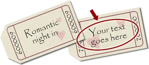 Romantic Coupons  Print Your Own Voucher
