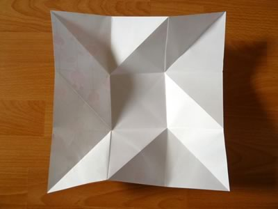 square origami envelope fully open