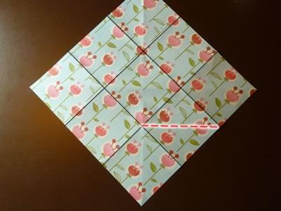 origami envelope step 3