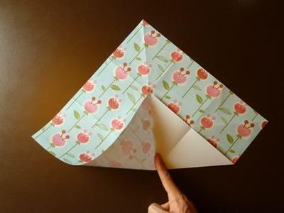 origami envelope step 3b