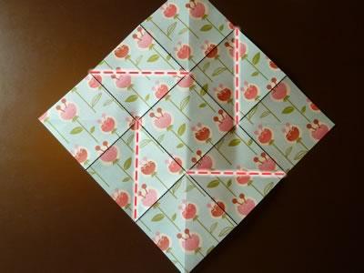 origami envelope step 3c