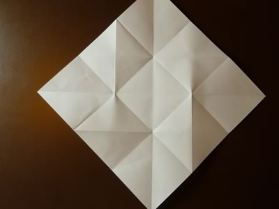 origami envelope step 4