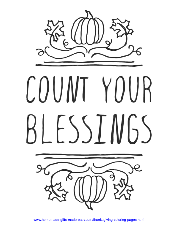 FREE Thanksgiving Coloring Pages for Adults & Kids - Happiness is ... | 776x600