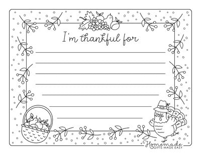 Turkey Coloring Pages Worksheet I Am Thankful for