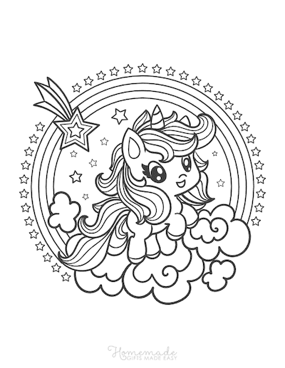 75 Magical Unicorn Coloring Pages For Kids Adults Free Printables