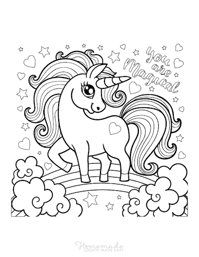 - 75 Magical Unicorn Coloring Pages For Kids & Adults Free Printables