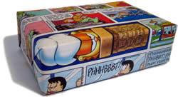 unique gift wrapping ideas comics
